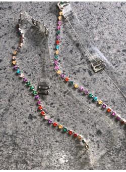 Õlapaelad kristallidega